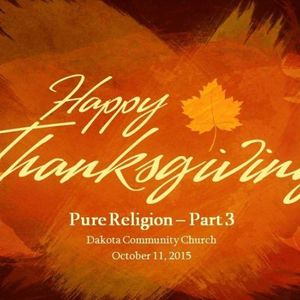 Pure Religion 3 - Audio