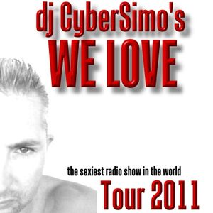 WE LOVE Episode 6. The sexiest radio show in the world. Dj Cybersimo