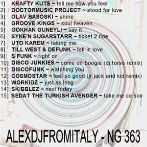 ALEXDJFROMITALY - NG363 house funky 2016
