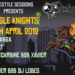 Freestyle Sessions Presents Jungle Knights v.03 - Dub-liner  28th april 2012