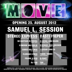 "Frank Savio ""Live @ Move Opening 08/2012"" [Tanzhaus-West, FFM]"