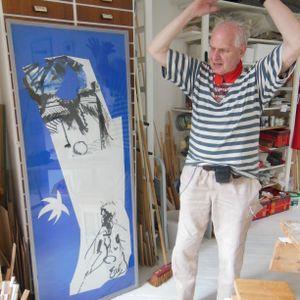 Bodo Baumgarten.... über Malewitsch, Matisse und Yves Klein und seinen Weg über das Meer zum Mehr