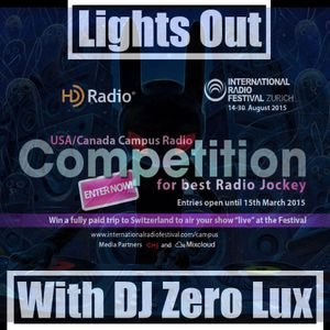 Lights Out Episode 16 IRF Search Best US/Canada College Radio Jockey 2015
