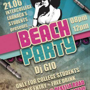 DJ TZIO - 1st COLLEGE BEACH PARTY 2012