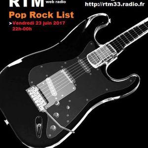 RTM Pop Rock list du 23/06/2017