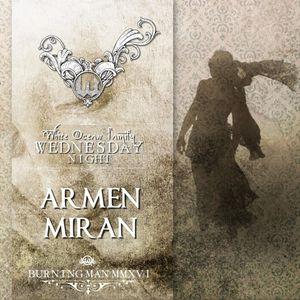 Armen Miran – White Ocean - Burning Man 2016
