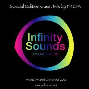 FREYA: Infinity Sounds Radio Broadcast - April 2012