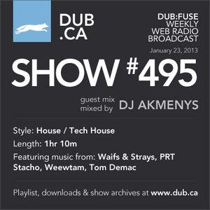 DUB:fuse Show #495 (January 23, 2013)