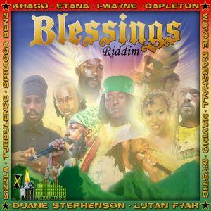 Blessings Riddim Full Mix (Avril 2012) - Selecta Fazah K.