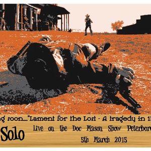 Doc Mason Show Part 2  5.3.2015 Features Geoff Hayward AKA Joe Solo