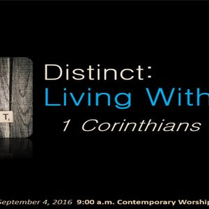 Distinct: Living With Power (Audio)