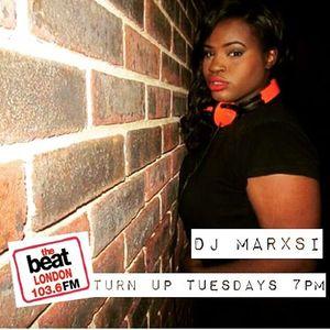 @DJMarxsi on #TheBeatLondon 20.12.2016 7-9pm