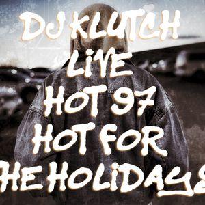 Dj Klutch On Hot 97 November 26th 2016