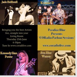PECULIAR BLUE PARLOUR SESSIONS LIVE ON CORADIO
