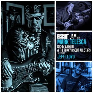 The Funky Biscuit AllStars feat. Jeff Lloyd - The Funky Biscuit - Boca Raton, FL - 2017-11-6