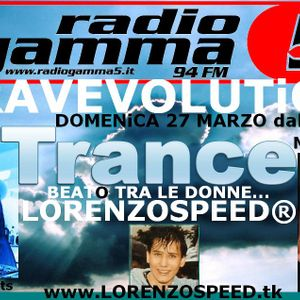 LORENZOSPEED presents RAVEVOLUTiON 27 03 2011 with LiSA STELLA and MARY iN TRANCE