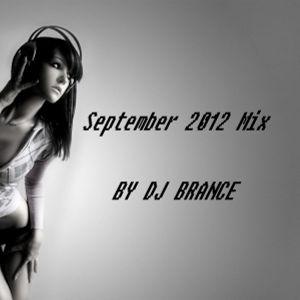September 2012 Mix by DJ Brance