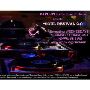 Soul Revival 2.0, WHPK, 88.5 FM (Chicago), 10/4/2017
