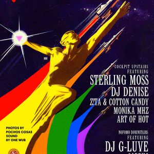 Art Of Hot- QUEERS IN SPACE-THE COCKPIT PRIDE PARTY 2017
