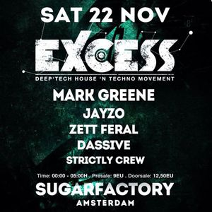 NORMAAL @ Excess Amsterdam 22.11.2014