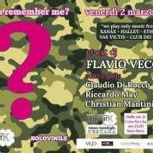 Flavio Vecchi Cutty Sark Do You Remember 02/03/2012