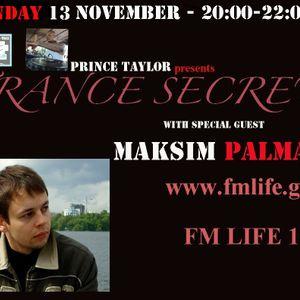 MAKSIM PALMAXS - 13 NOVEMBER 2011 GUEST MIX