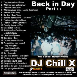 Best of Classic Club Back in the Day 1.1 by DJ Chill X
