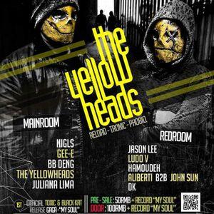 The YellowHeads Studio live mix 012
