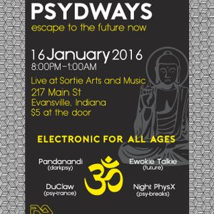 DuClaw LIVE @ PSYDWAYS Underground Trance Party Evansville
