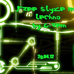 Free Style Mix techno (Vinyls serato) - G-rem Bosh - 29.04.12