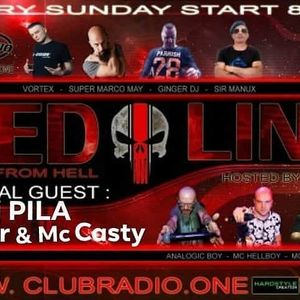 Ginger & Mc Casty Club Radio One Red Line 26/07/2020