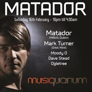 Dave Stead - Musiquarium - 160213 - Matador Party