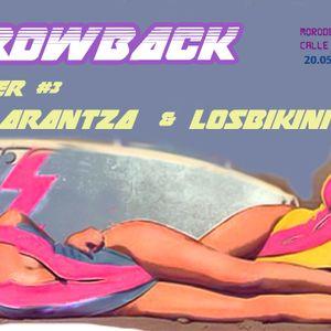 Throwback chapter #3 w/ LosBikini & Arantza, at Moroder Sound Club 20.05.2017