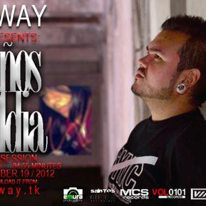 DJ WAY -10 años y 1 dia - techno sessions - nov 19 -2012