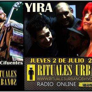 RITUALES URBANOS  con YIRA y MARCOS CIFUENTES