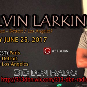 313 DBN Radio - Guest DJ Kelvin Larkin [SUN JUNE 25. 2017]
