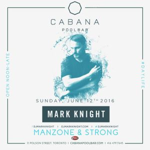 Manzone & Strong - Cabana Z103.5 Live To Air (June 12.2016)