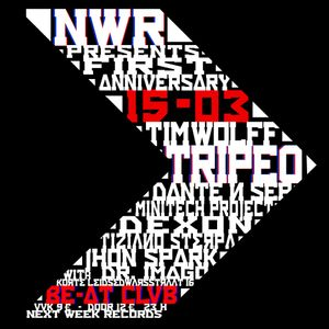 Minitech Project LIVE@NWR anniversary Beatclub Amsterdam 15/03/2014