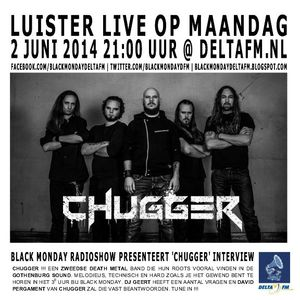 Black Monday Metal Hour 02-06-2014 Swedish Special with Chugger interview