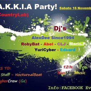 ALEX DEE DJ Since1994 @ M.A.K.K.I.A Party (CountryLab)