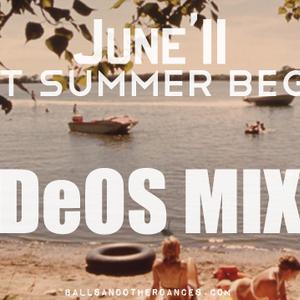 LET SUMMER BEGIN-DEOSMIXTAPEJUNE11