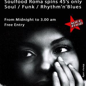 Soulfood dj-set part 1 @ Cafe de Duivel, Amsterdam, April 2012