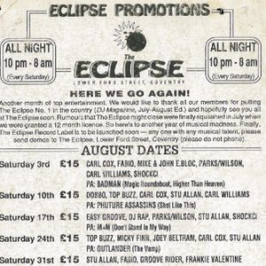 Top Buzz 4 @ The Eclipse Coventry - 1991 (Side A)
