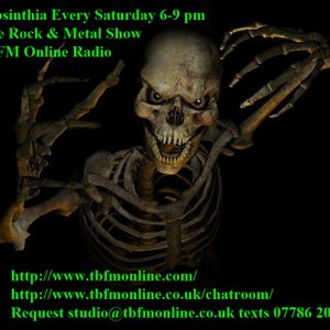 Absinthia's Rock & Metal Show 6-9pm 09 08 2014