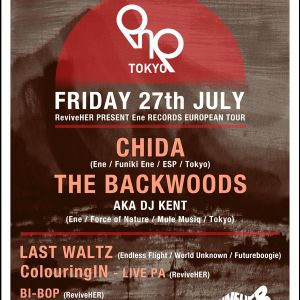 Chida & The Backwoods Live @ ReviveHER 27.07.12