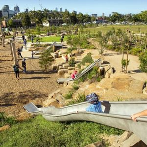 Melbourne's 'Nature Play' voted Australia's best playground