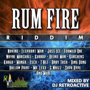 DJ RetroActive - Rum Fire Riddim Mix (Full) [JA Prod] January 2012