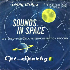 """Sounds in Space - Cpt. Sparky presents 7"""" single only mix"""