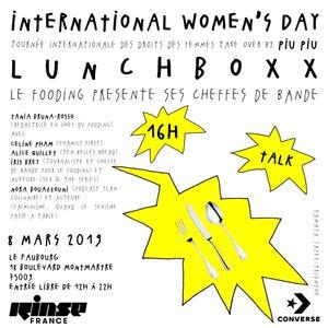Women's Day Take Over : Lunchboxx Le Fooding Présente Ses Cheffes De Bande - 08 Mars 2019
