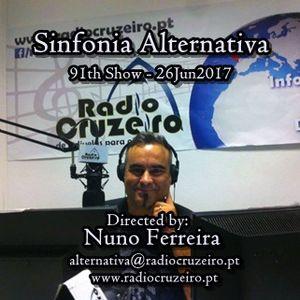 SINFONIA ALTERNATIVA 91th Show - 26Jun2017 - www.radiocruzeiro.pt